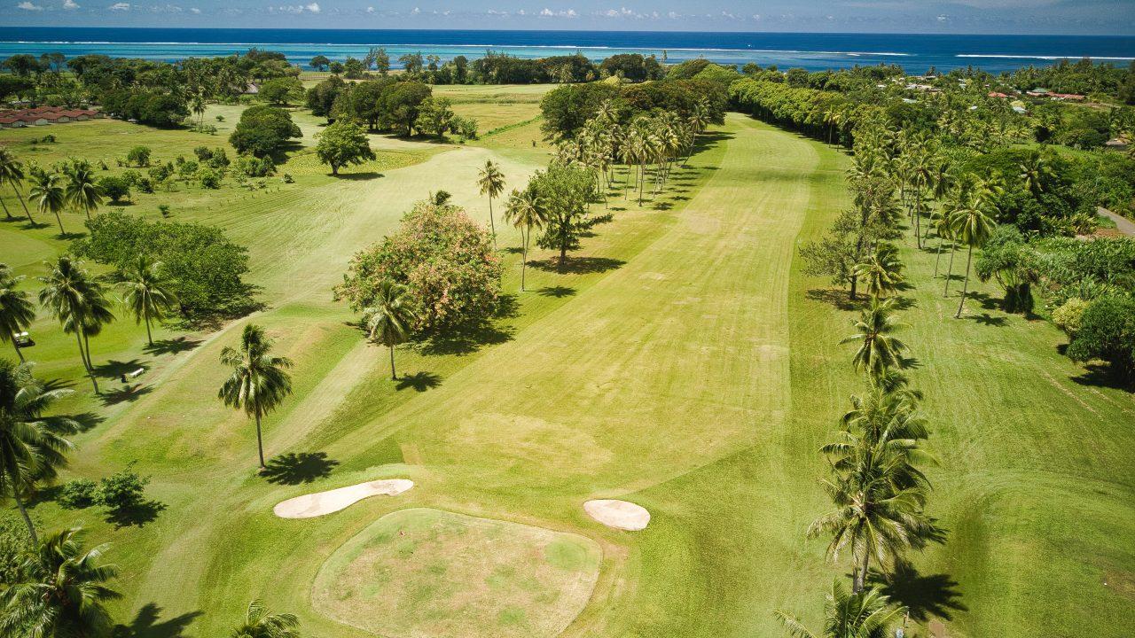 Golf international de TAHITI 1