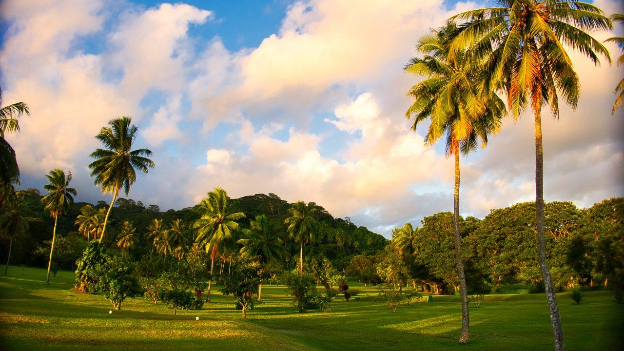 Golf international de TAHITI 2