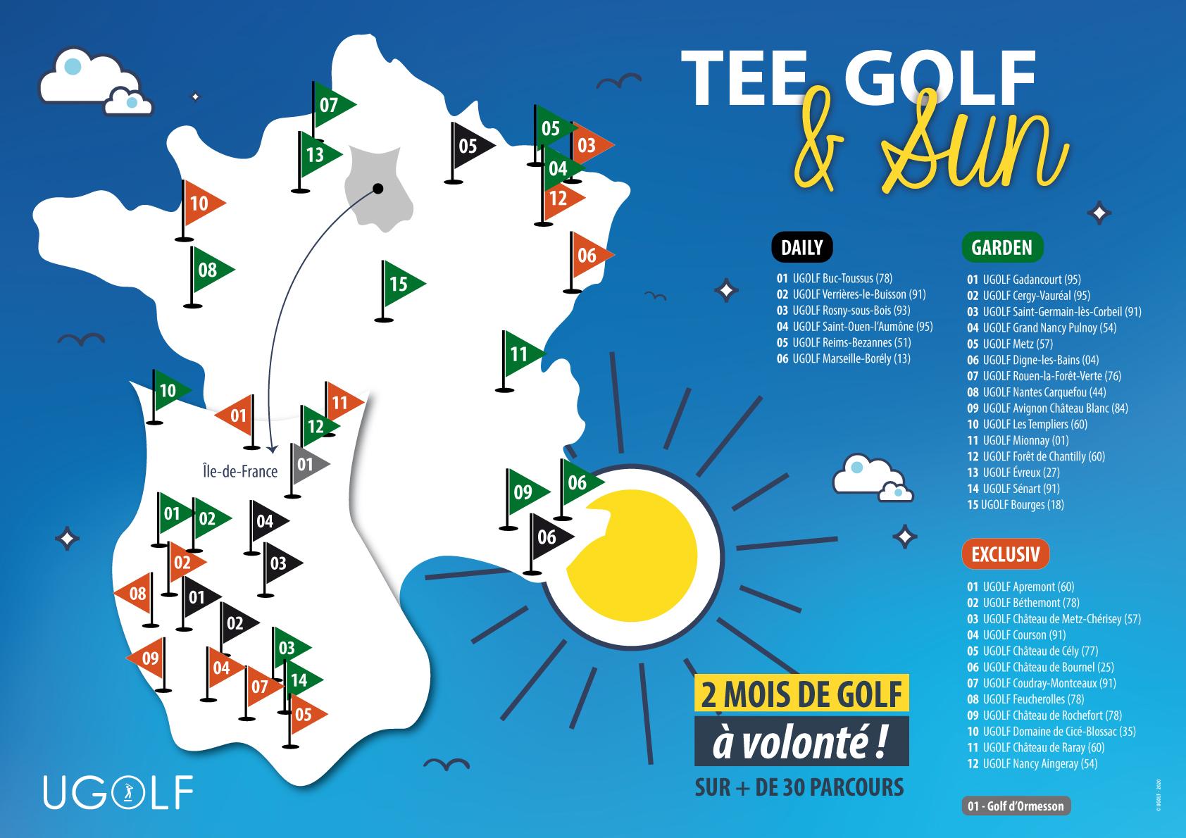 Offre golf été : Tee, Golf and Sun 5