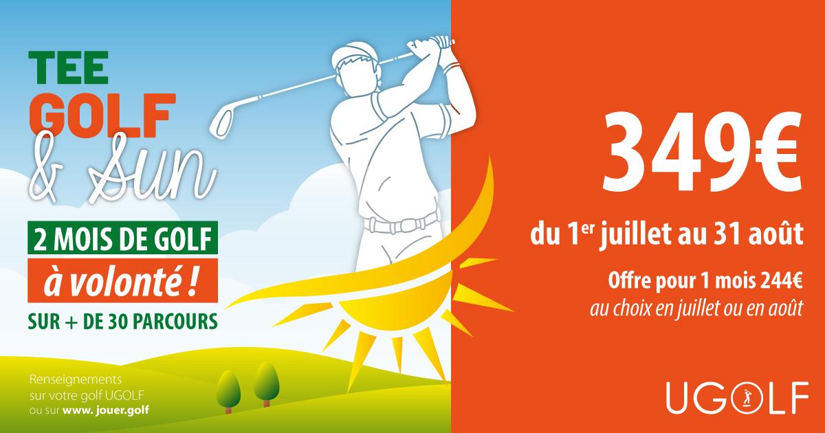 Offre golf été : Tee, Golf and Sun 6
