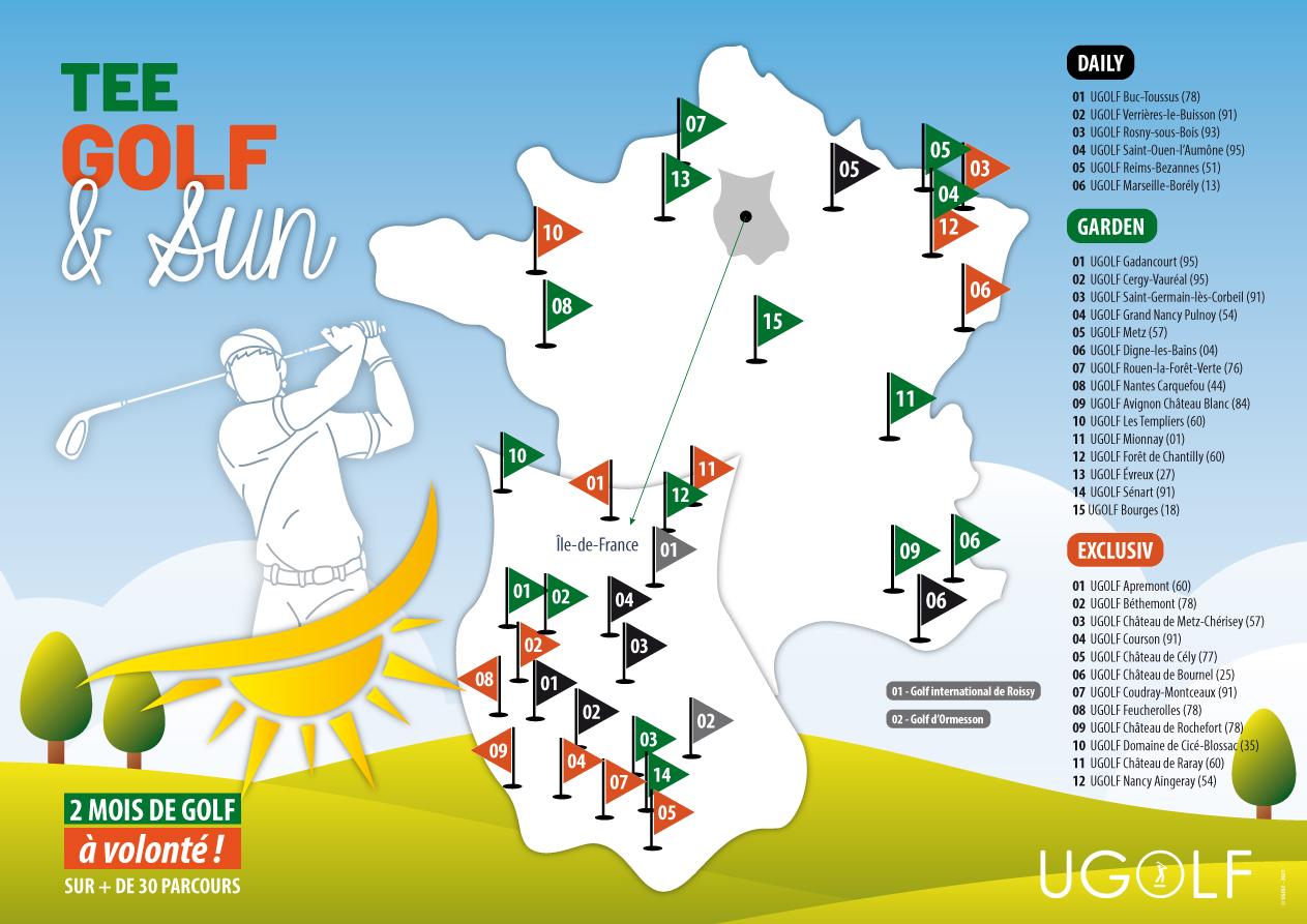 Offre golf été : Tee, Golf and Sun 7