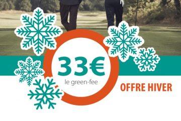 Golf de Nantes Carquefou : offre d'hiver sur les green fees