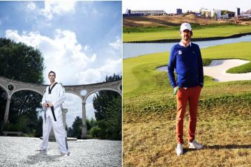 Je commence le golf avec Stevens Barclais et Philippe Risotto au golf de Cergy. 2