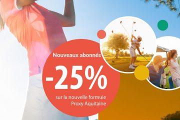 Golf de Bordeaux Cameyrac : Offre abonnement de printemps 2