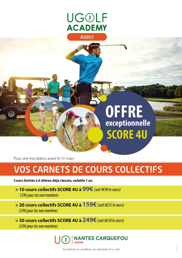 Golf de Carquefou : offre spéciale abonnement monogolf 1