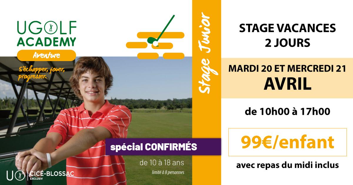 Golf de Cicé-Blossac : stage juniors de Pâques 1