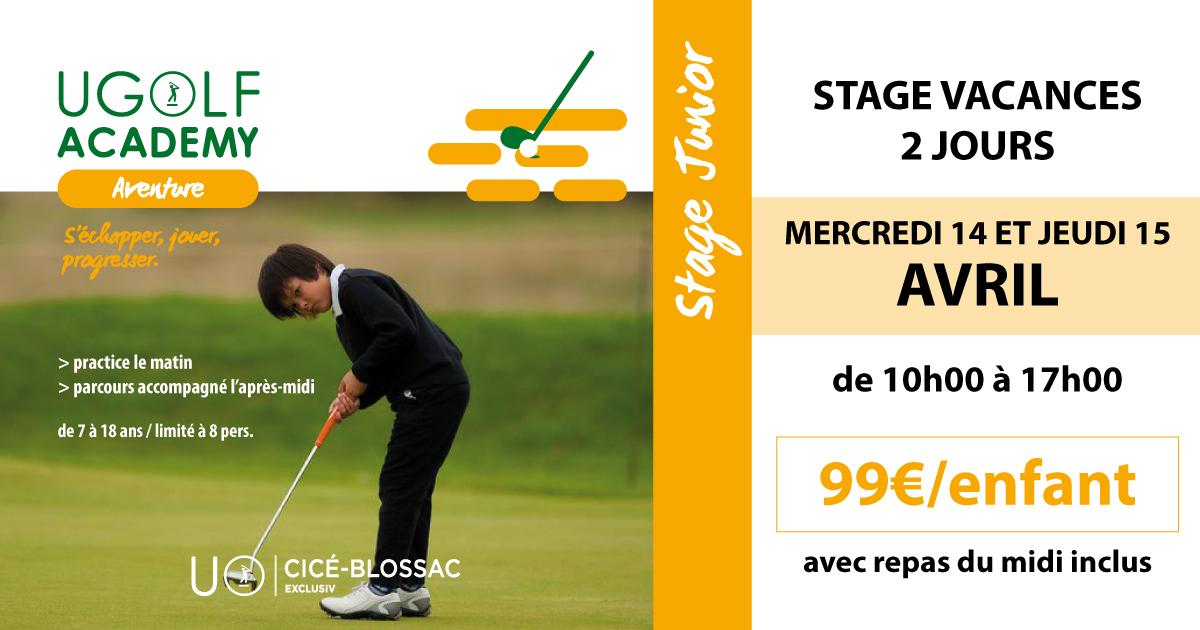 Golf de Cicé-Blossac : stage juniors de Pâques