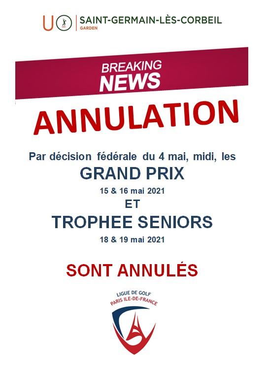 Golf de Saint-Germain-lès-Corbeil : Grand Prix