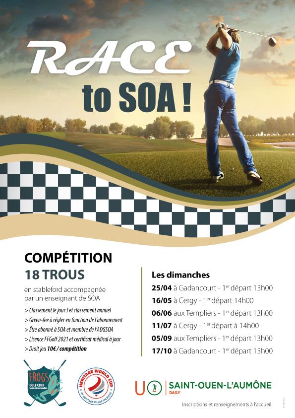 Golf de Saint-Ouen-l'Aumône : compétitions et rencontres Academy et école de golf 1
