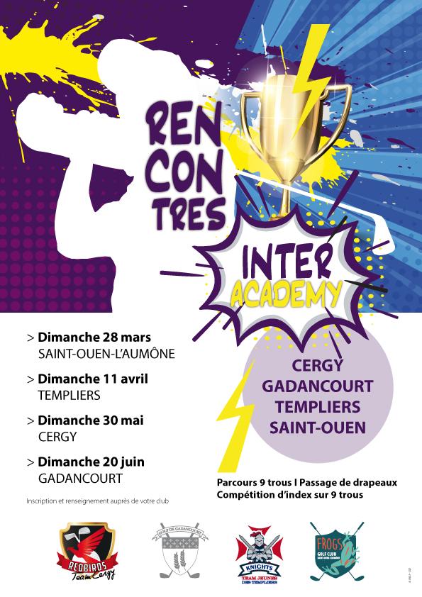 Golf de Saint-Ouen-l'Aumône : compétitions et rencontres Academy et école de golf