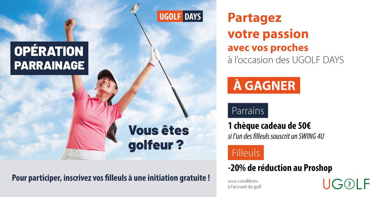UGOLF DAYS : Jeux, concours et parrainage ! 4