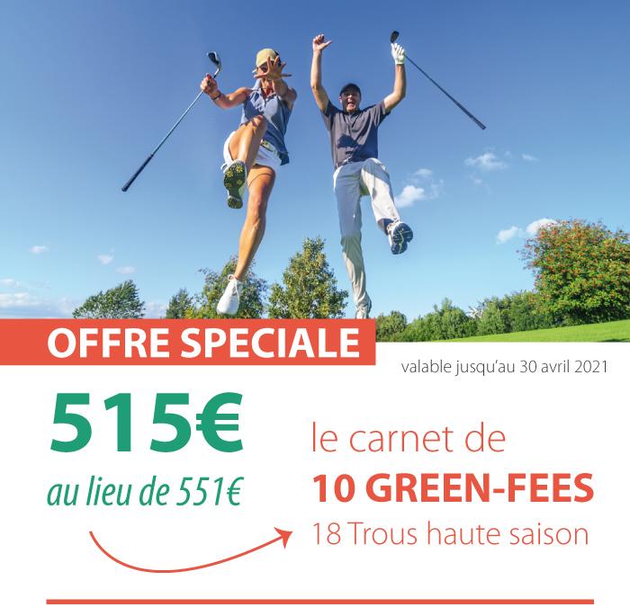Golf de Lacanau : offre spéciale green fees