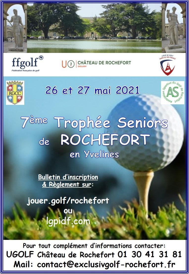 Golf de Rochefort : Trophée Séniors