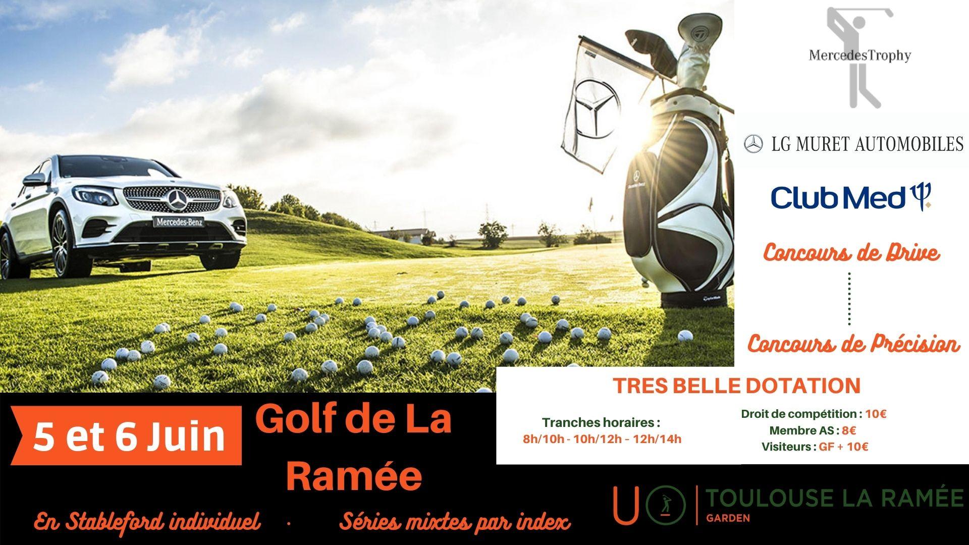 Golf de la Ramée : Mercedes Trophy / Club Med