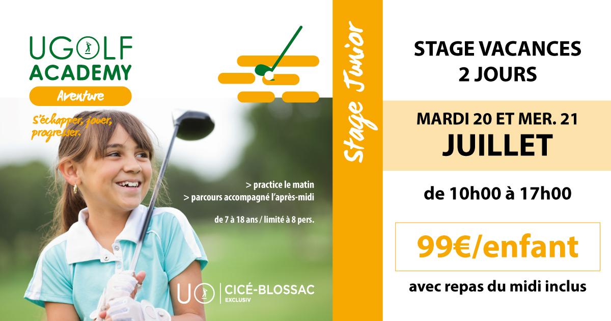 Golf de Cicé-Blossac - Stages d'été juniors