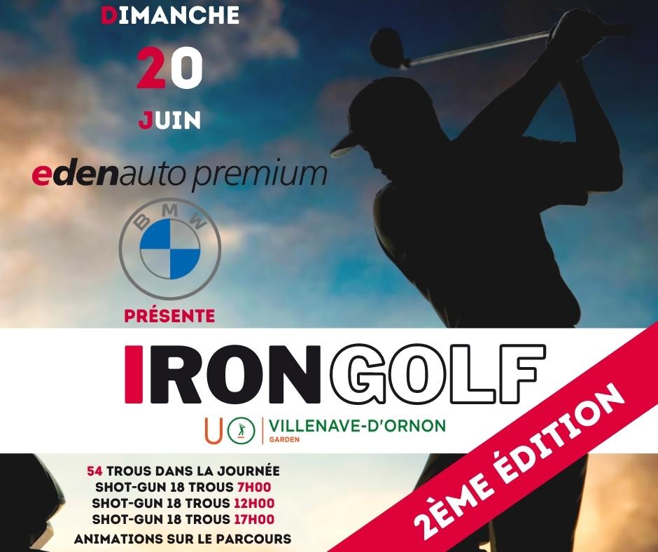 Golf de Villenave d'Ornon : Compétition Iron Golf