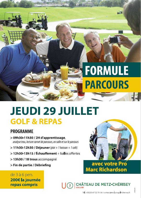 Golf de Metz Cherisey : Formules Parcours