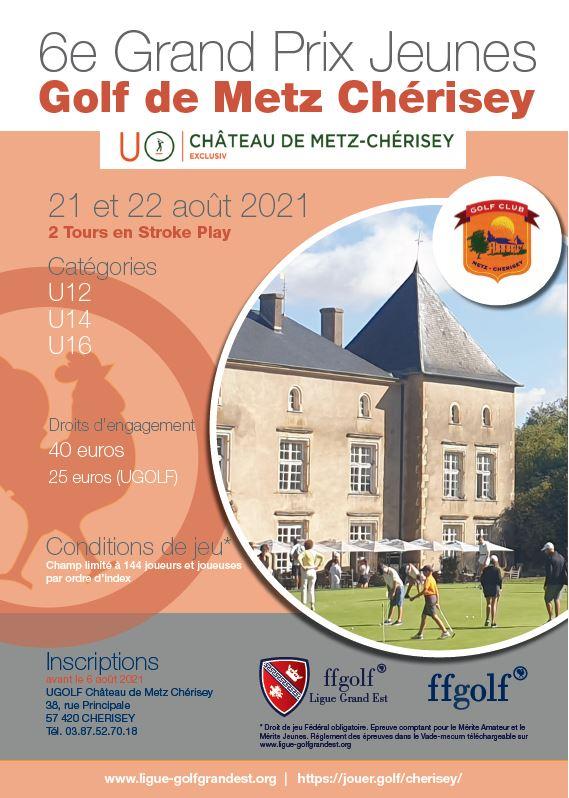 Golf de Metz Cherisey : Grand Prix Jeunes