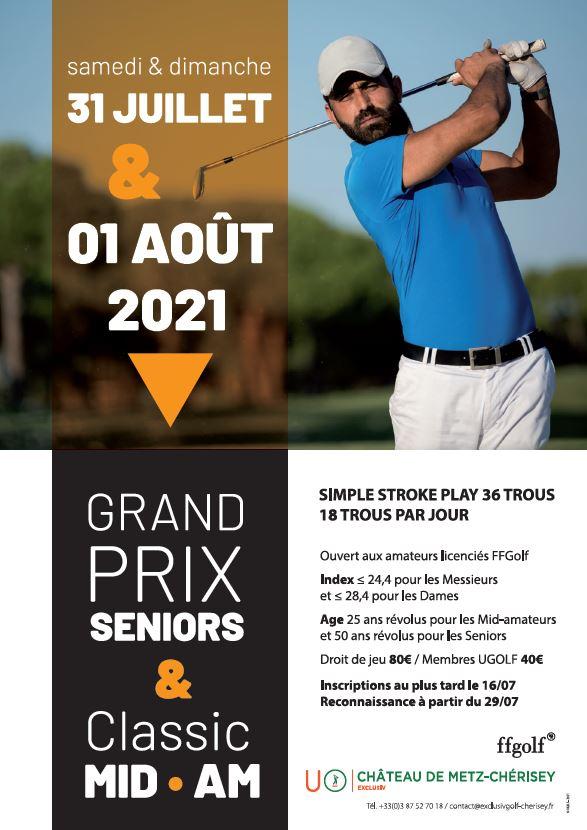 Golf de Metz Cherisey : Grand Prix Sénior et Classic Mid AM