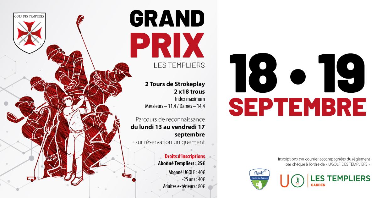Golf des Templiers : Grand Prix 2021