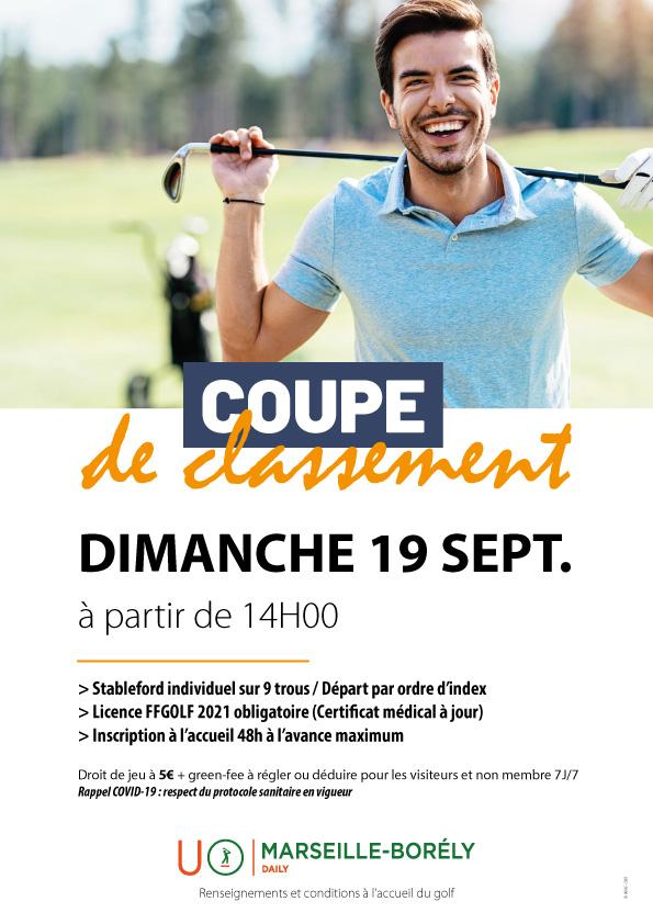 Golf de Marseille - Borély : Coupe de classement