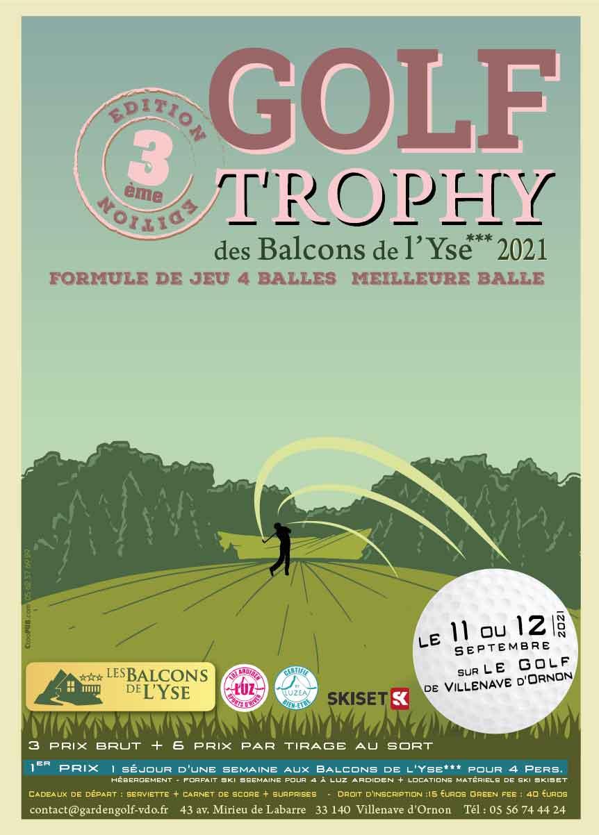 Golf de Villenave d'Ornon : Compétitions de septembre 1