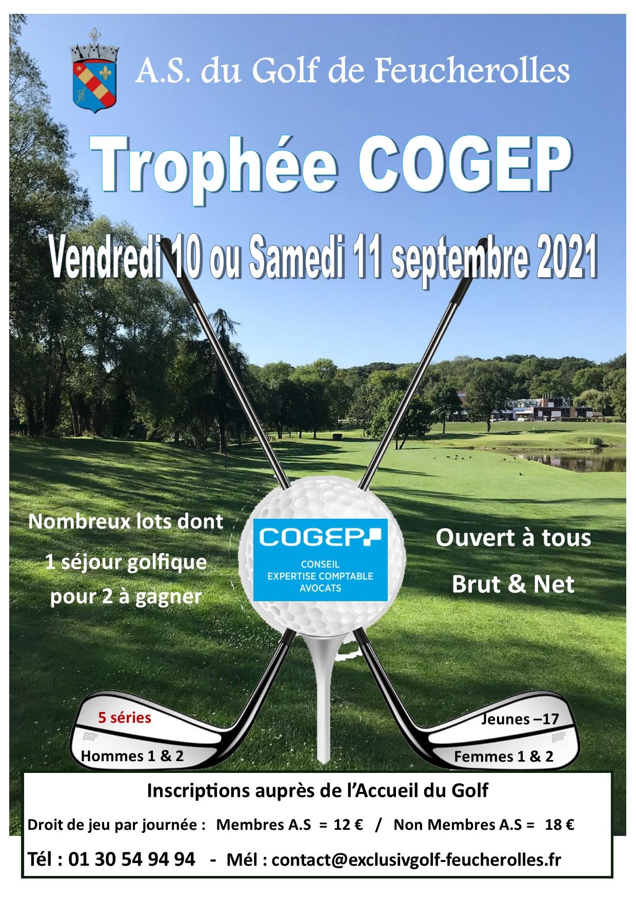Golf de Feucherolles : Compétitions de septembre 2021