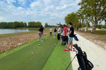 Golf de Villenave d'Ornon : rentrée de l'école de golf