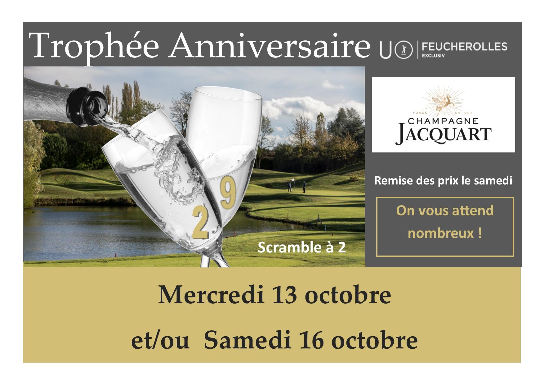Golf de Feucherolles : Trophée anniversaire