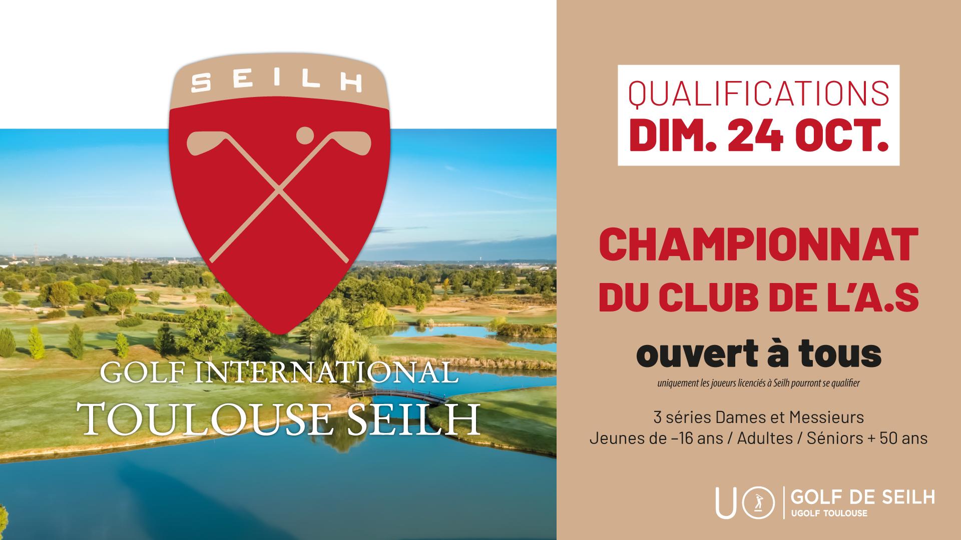 Golf de Seilh : Compétitions d'octobre 1